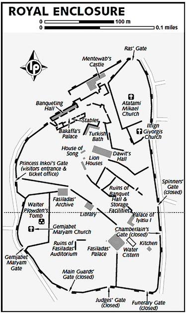 mapa de Fasil